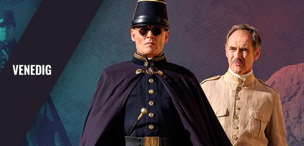 Gruseliger als Grindelwald: Johnny Depp beeindruckt in Waiting for the Barbarians