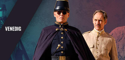 Johnny Depp und Mark Rylance in Waiting for the Barbarians