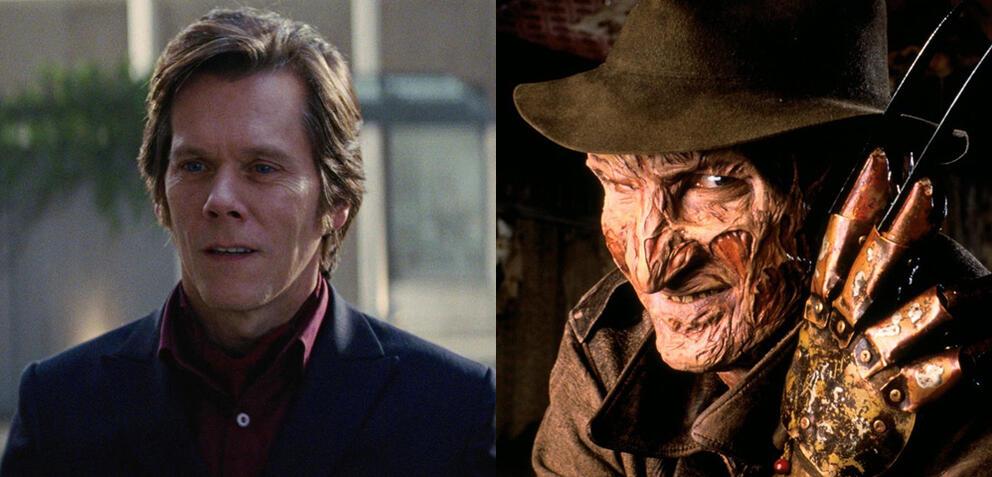 Kevin Bacon in X-Men: Erste Entscheidung/Nightmare - Mörderische Träume