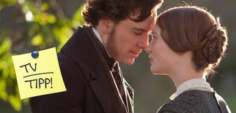 Michael Fassbender und Mia Wasikowska in Jane Eyre