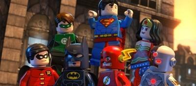 Die Gerechtigkeitsliga von Amerika in LEGO-Ausgabe