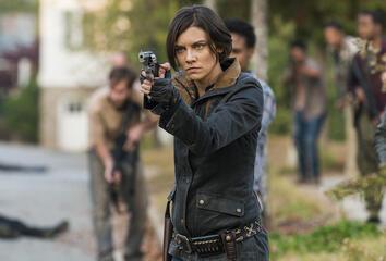The Walking Dead - Die schwangere Maggie