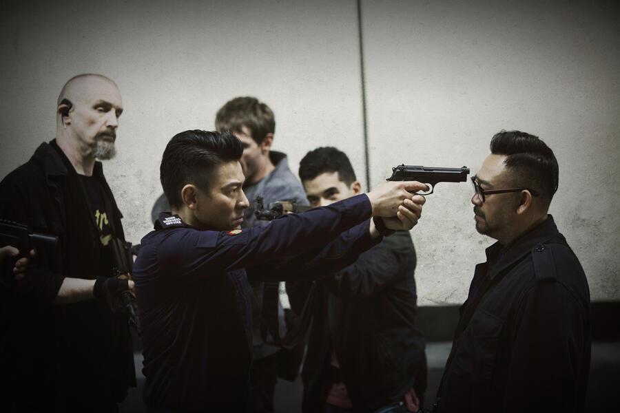 Shock Wave mit Andy Lau