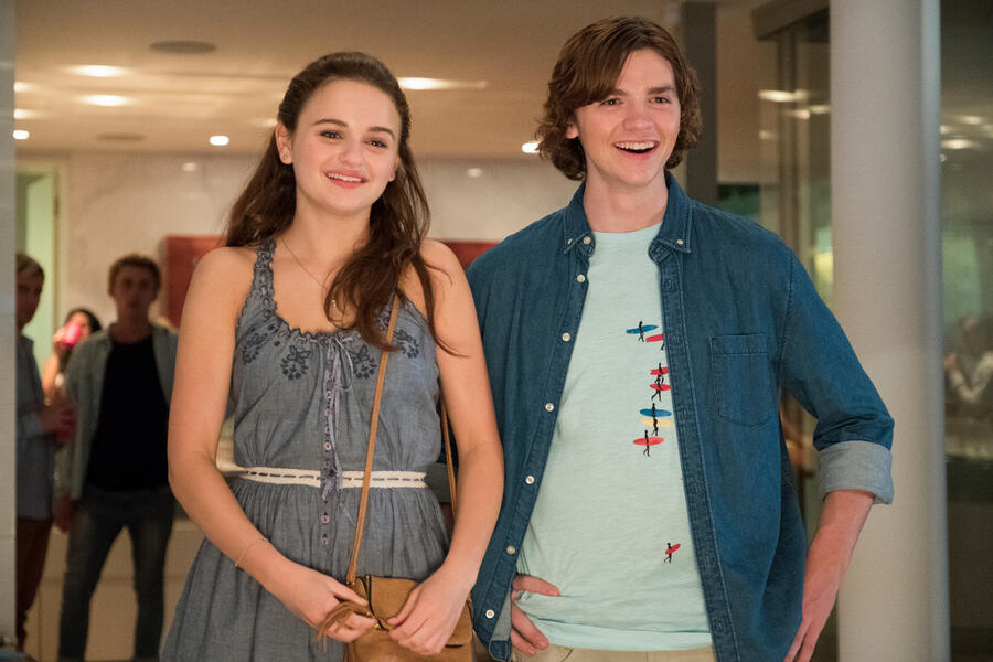 The Kissing Booth mit Joey King und Joel Courtney