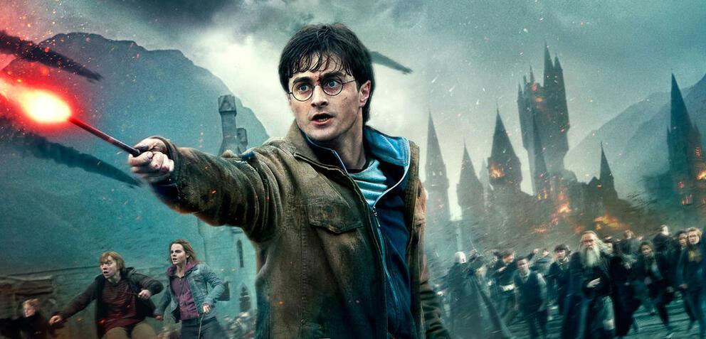 Daniel Radcliffe in Harry Potter