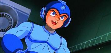 Bild zu:  Mega Man in der Animationsserie der 1990er