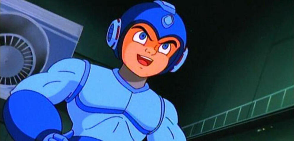 Mega Man in der Animationsserie der 1990er