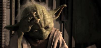 Alfred Yoda aus The Dark Side Rises