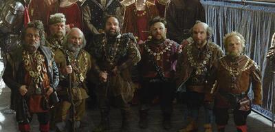 Die sieben Zwerge in Snow White and the Huntsman