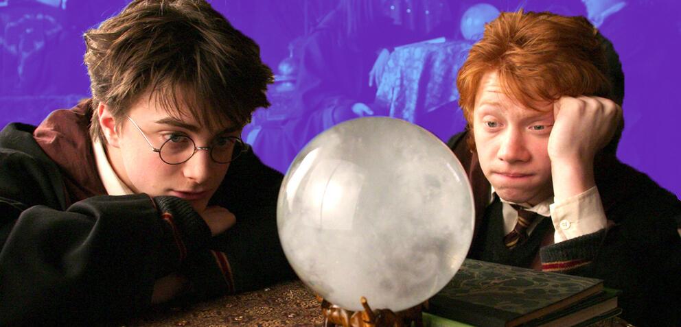 Harry Potter und der wahrsagende Ron Weasley