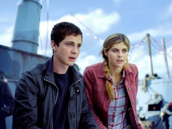 Percy Jackson 2: Im Bann des Zyklopen mit Logan Lerman und Alexandra Daddario