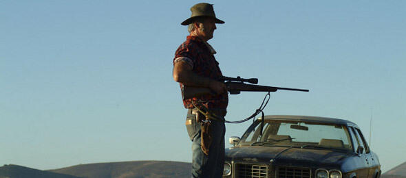 John Jarratt als Serienkiller in Wolf Creek 2