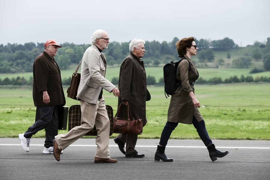 Kundschafter des Friedens mit Antje Traue, Henry Hübchen, Michael Gwisdek und Thomas Thieme