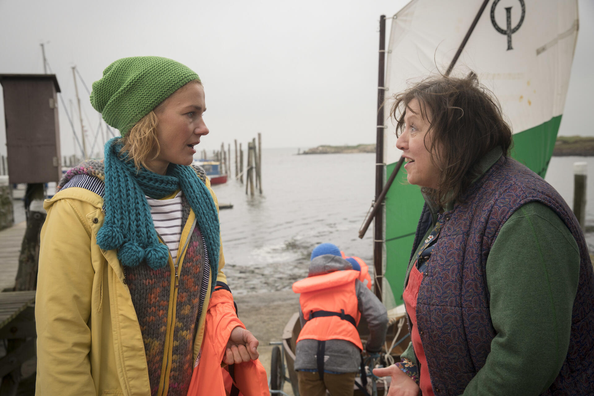 Wind Aus West Mit Starken Böen Film