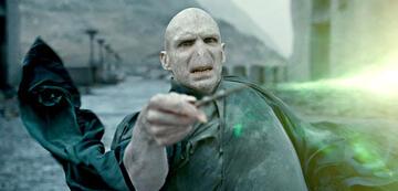 Harry Potter und der tote Voldemort in Heiligtümer des Todes 2