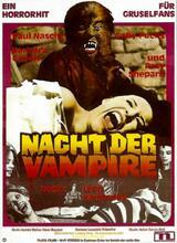 Nacht der Vampire - Poster