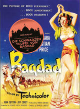 Die schwarzen Teufel von Bagdad - Poster