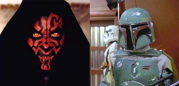 Bild zu:  Star Wars: Darth Maul und Boba Fett