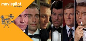 Bild zu:  Die James Bond-Darsteller