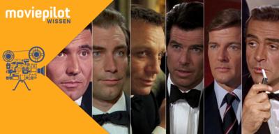 Die James Bond-Darsteller