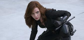 Scarlett Johansson in Civil War
