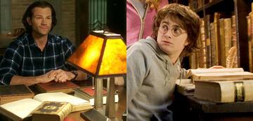 Supernatural und Harry Potter: die Referenzen