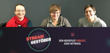 Podcast-Team der 22. Folge: Esther, Jenny und Andrea