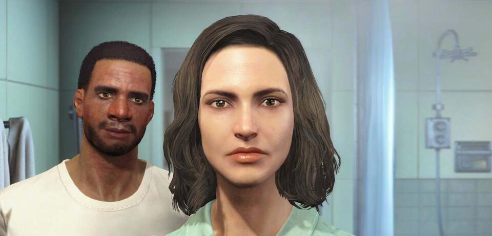 Der Charakter-Editor von Fallout 4