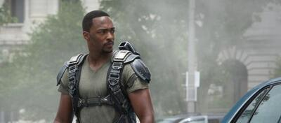 Anthony Mackie in Captain America 2: The Return of the First Avenger