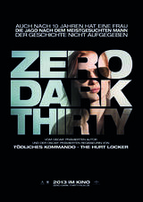 Zero Dark Thirty - Poster