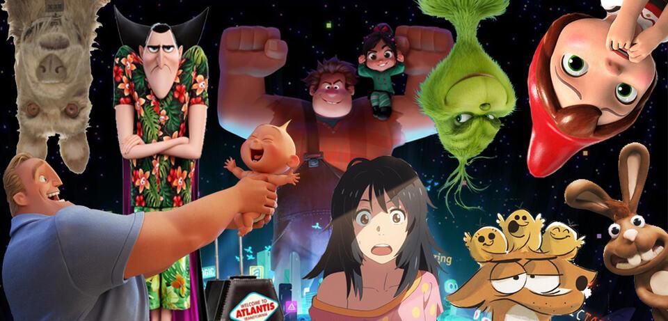 Animationfilme und ihre Figuren 2018