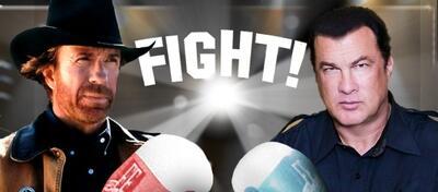 Chuck Norris vs. Steven Seagal