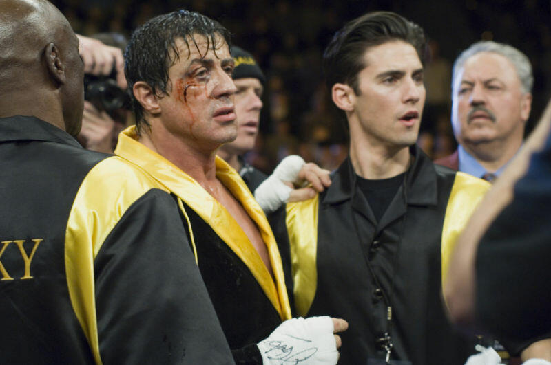 Rocky Balboa mit Sylvester Stallone und Milo Ventimiglia