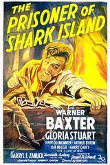Der Gefangene der Haifischinsel - Poster