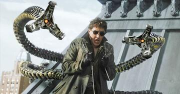 Alfred Molina als Doctor Octopus in Spider-Man 2