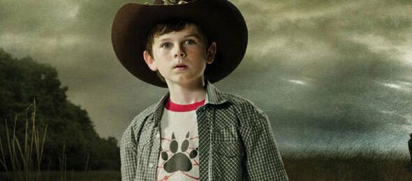 Carl aus Walking Dead