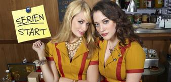 Pleite und Spaß dabei: Caroline (Beth Behrs) undMax (Kat Dennings)