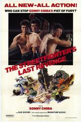 The Streetfighter's Last Revenge - Poster