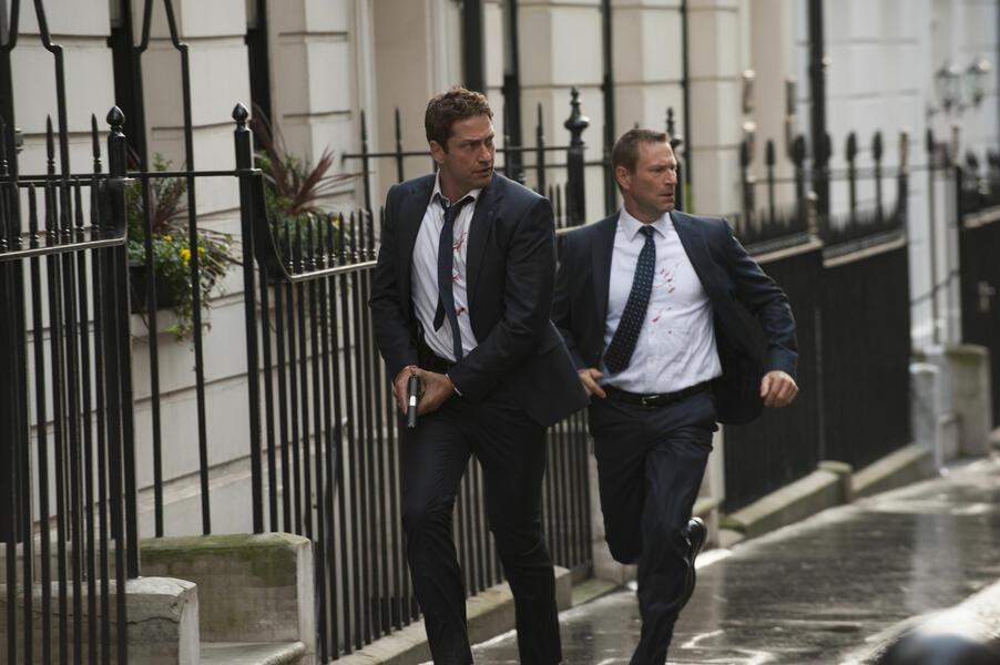 London Has Fallen mit Gerard Butler und Aaron Eckhart