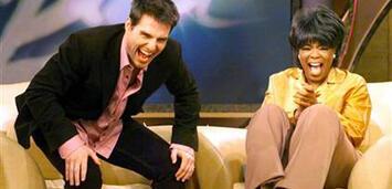 Bild zu:  Tom Cruise bei Oprah Winfrey