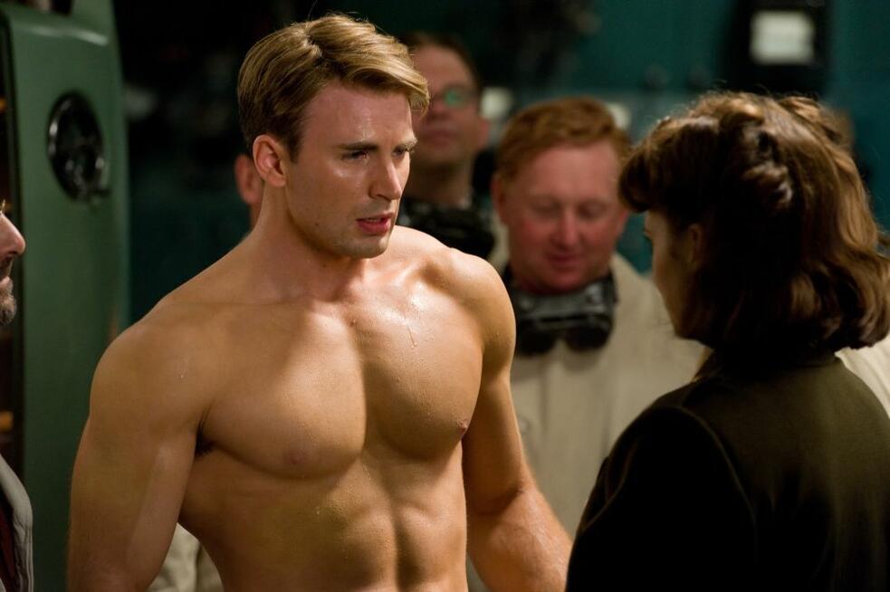 Captain America - The First Avenger mit Chris Evans