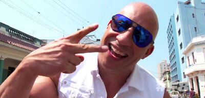 Fast and Furious 8: Vin Diesel in Kuba