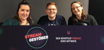Streamgestöber-Team der Serienabbrecher-Folge: Melanie, Max & Esther