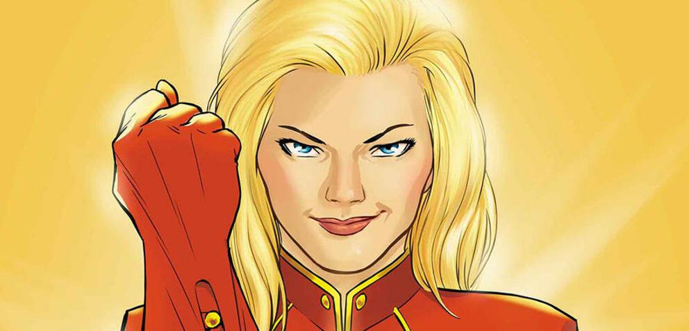 Erst im 20. Film: Captain Marvel