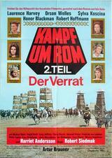 Kampf um Rom II - Der Verrat - Poster