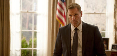 Aaron Eckhart in London Has Fallen