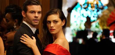 Daniel Gillies und Phoebe Tonkin als Elijah und Hayley in The Originals