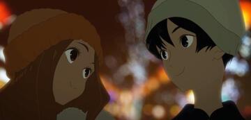 Hinako und Minato auf einem Date