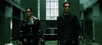Trinity und Neo