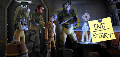 Die Crew aus Star Wars Rebels
